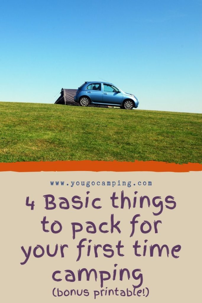 4 Basic things to pack for your first time camping | Yougo Camping