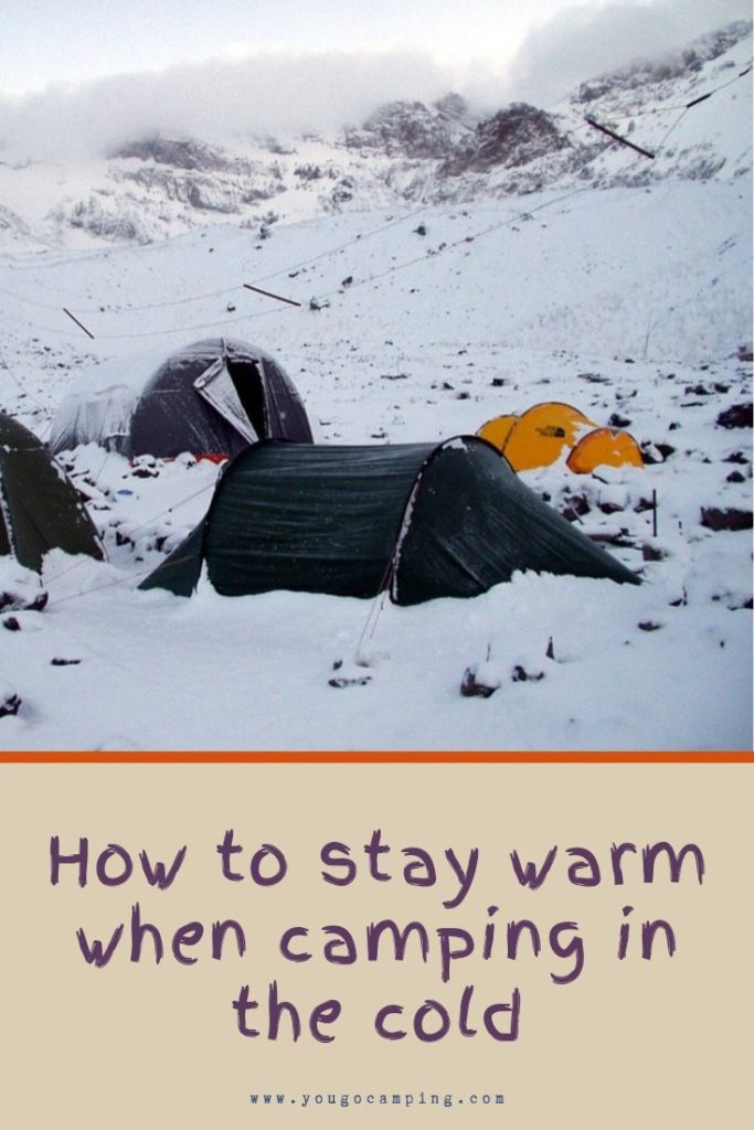 How To Stay Warm When Camping | Yougo Camping