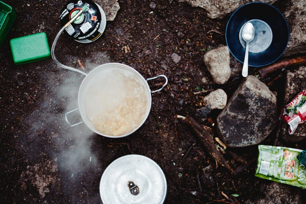What's your favourite camping food?