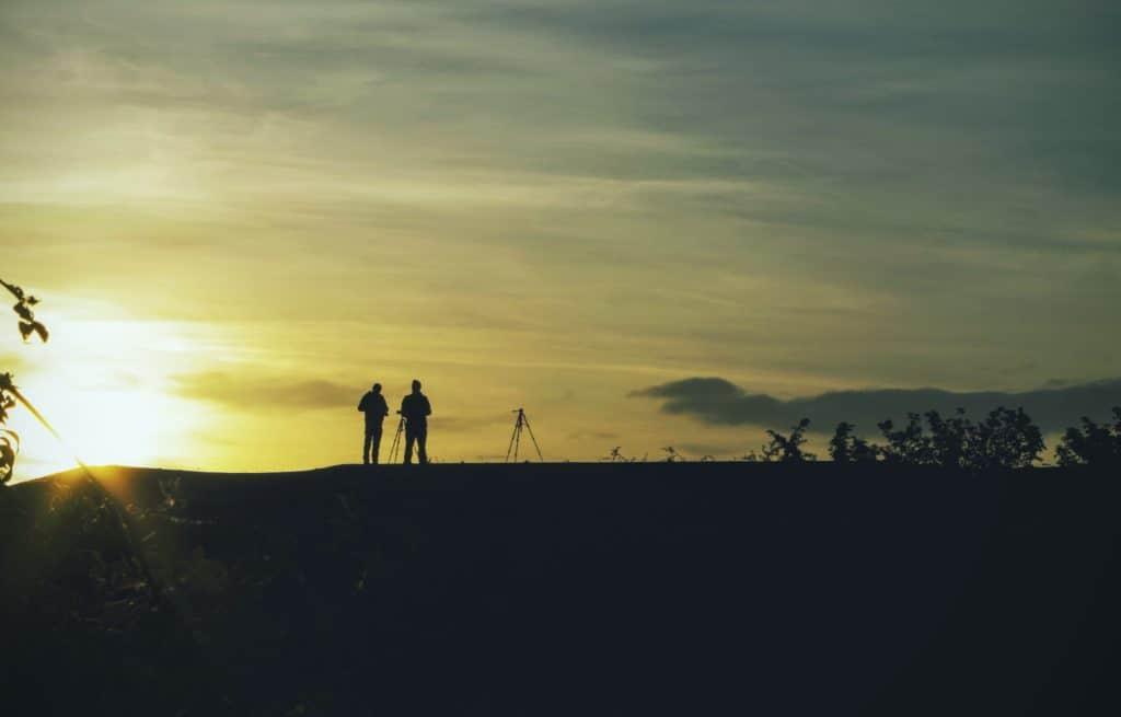 sunset photographers - yougo camping
